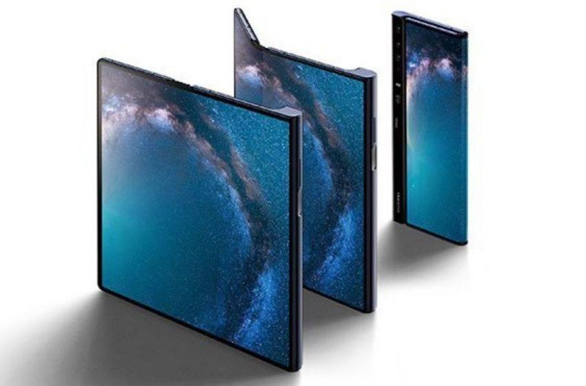 Huawei katlanabilir telefon Mate X'i tanıttı