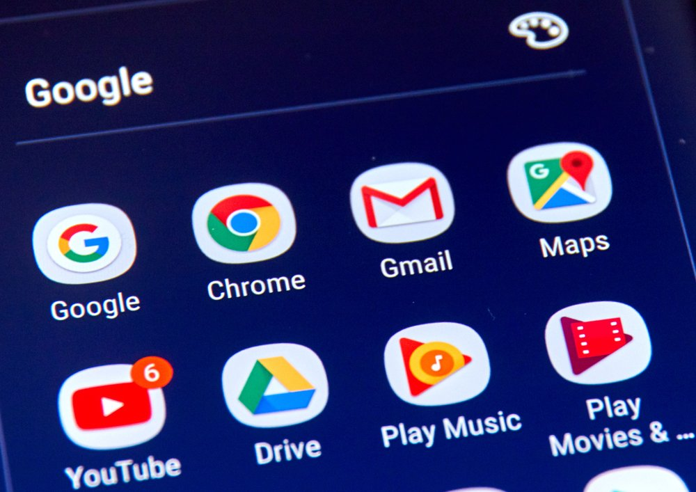 Alt uygulamaları ise burada var. Bunlara örnek verecek olursak Youtube, Gmail, Maps, Drive gibi