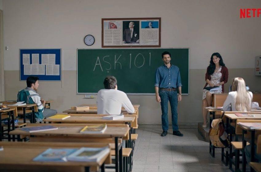 Netflix yeni Türk yapımı Aşk 101'i tanıttı
