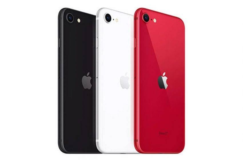 iPhone SE 2020 satışları Apple'ı kurtardı