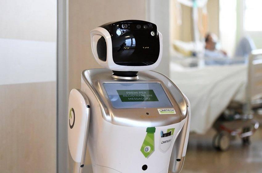 Günde 3 bin Korona virüsü testi yapan robotlar