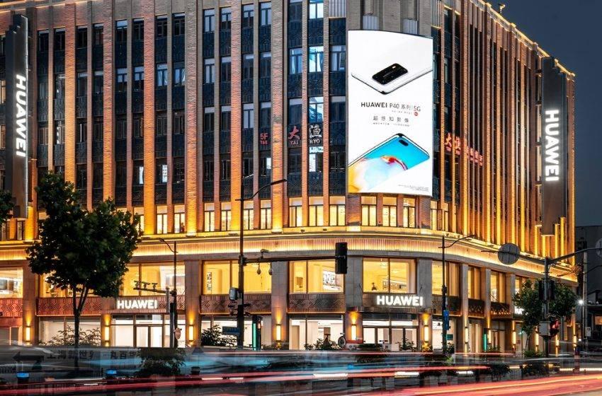 Dünyanın en büyük Huawei mağazası açıldı