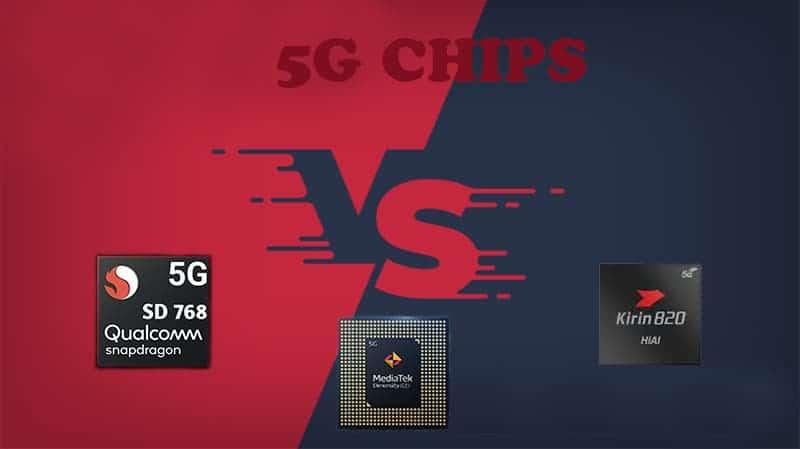 En güçlü telefon işlemci hangisi: Snapdragon 768G, Dimensity 820, Kirin 820
