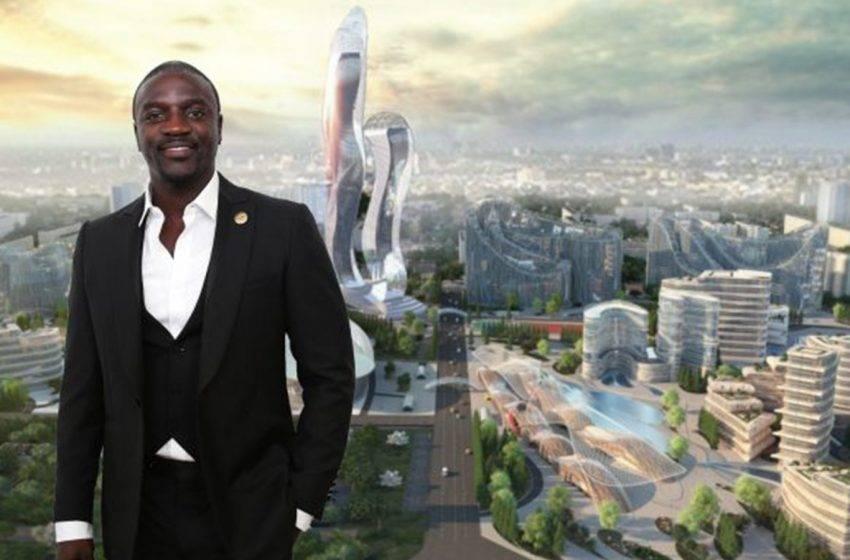 Akon kripto para şehrini inşa etmeye başlıyor