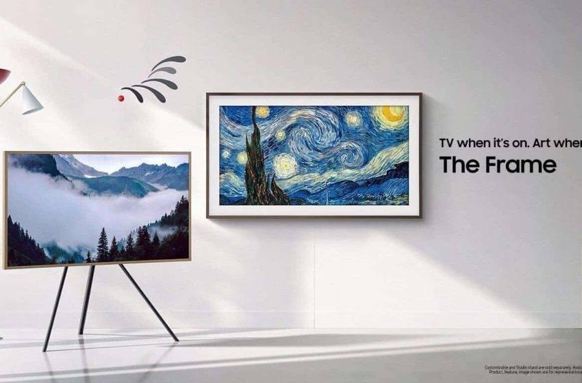 Samsung Frame 2020'yi tanıttı