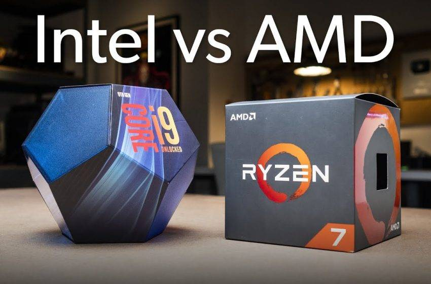 Intel işlemciler AMD işlemcileri zora soktu!