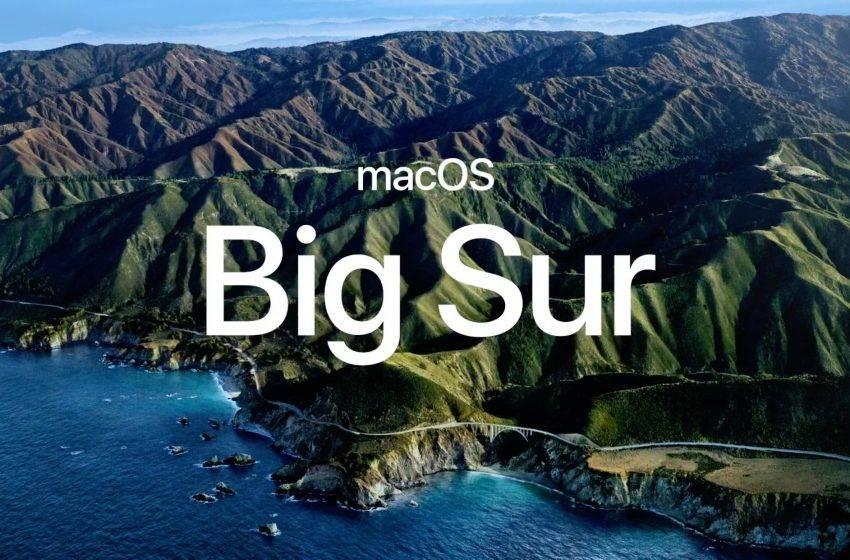 macOS Big Sur 10.16 tanıtıldı! İşte detaylar!