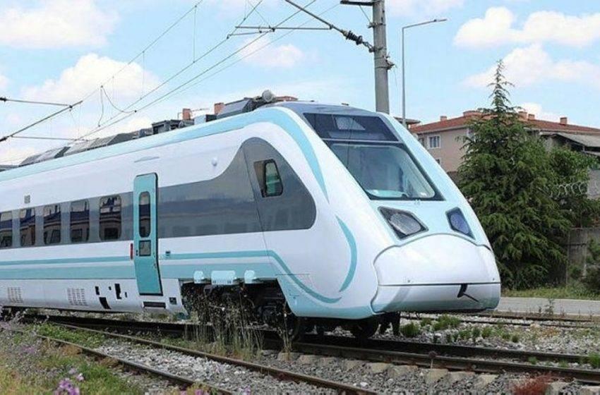 Milli elektrikli tren raylarda! Testler başladı