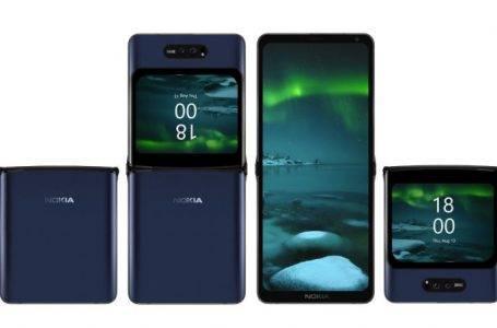 Nokia katlanabilir telefon tasarımı ortaya çıktı