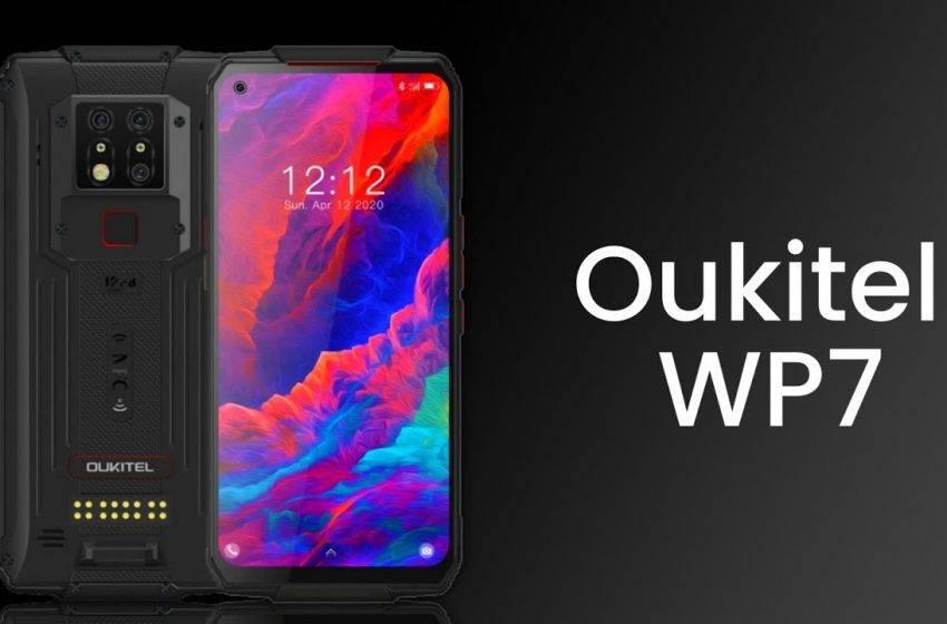 Dünyanın en sağlam akıllı telefonu Oukitel WP7 tanıtıldı!