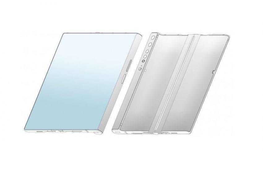 Xiaomi katlanabilir telefon tasarımı sızdırıldı: Tıpkı Huawei Mate X