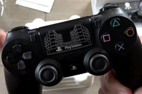 Sony çalışanlarına özel PS4 DualShock ortaya çıktı