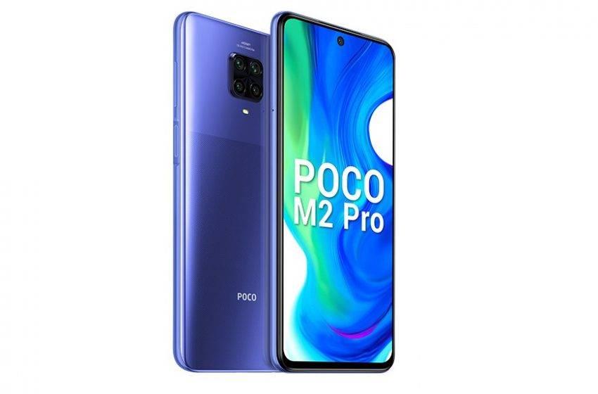 Poco M2 Pro tanıtıldı! İşte fiyatı ve özellikleri