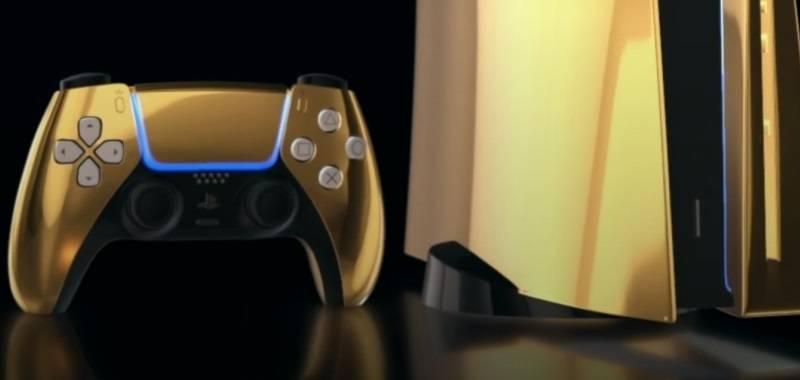 Altın kaplama PlayStation 5 üretildi