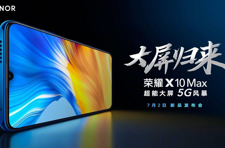 Honor X10 Max tanıtıldı! İşte fiyatı ve özellikleri