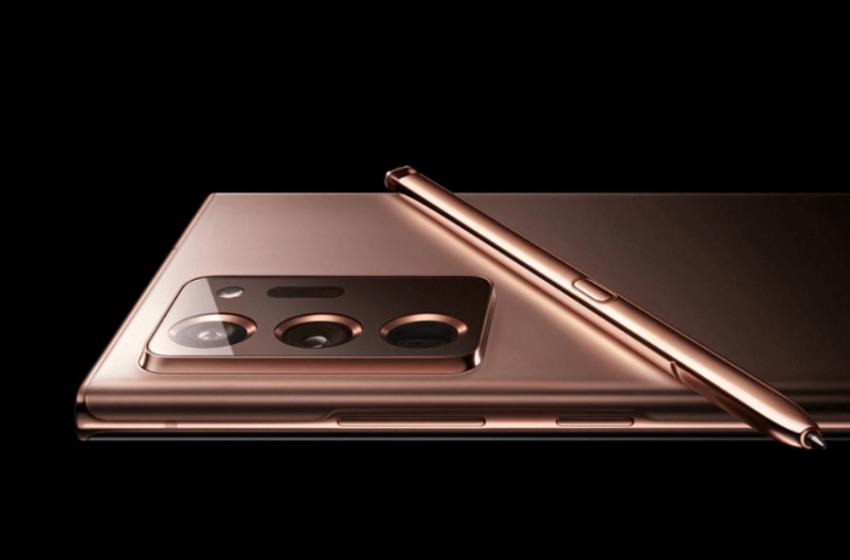 Samsung Galaxy Note 20 Ultra'yı yanlışlıkla paylaştı