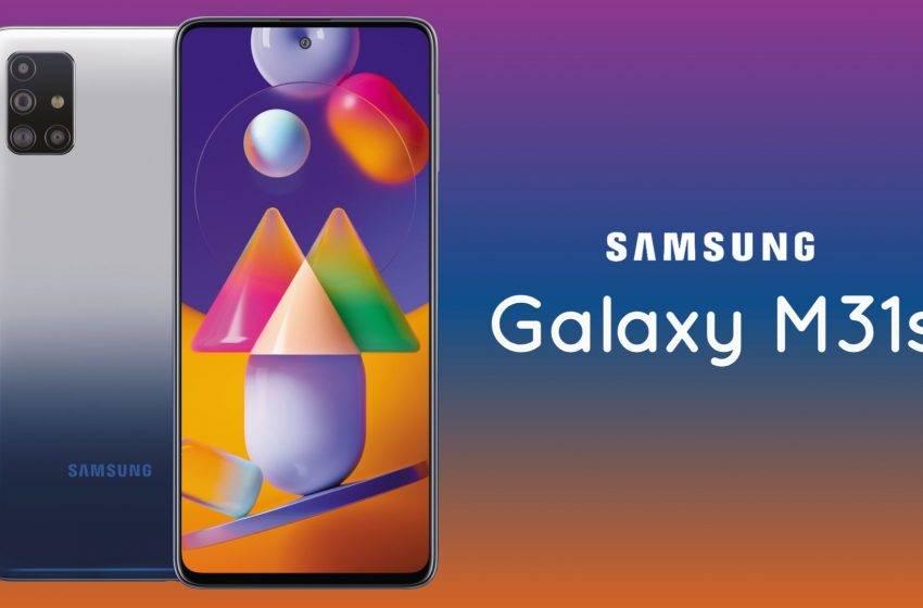 6.000 mAh bataryalı Samsung Galaxy M31s tanıtıldı! İşte fiyatı