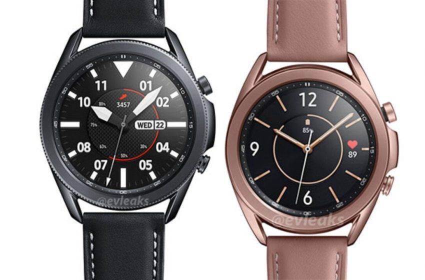 Samsung Galaxy Watch 3 videosu ortaya çıktı