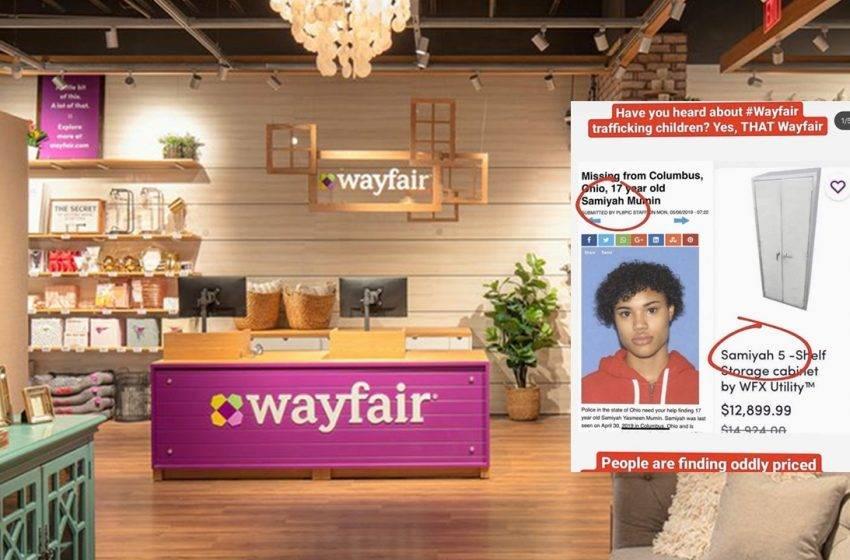 Wayfair skandalının detayları! Çocuk ticareti
