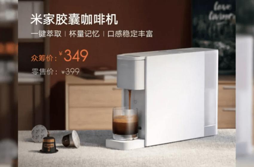 Xiaomi kahve makinesi üretti