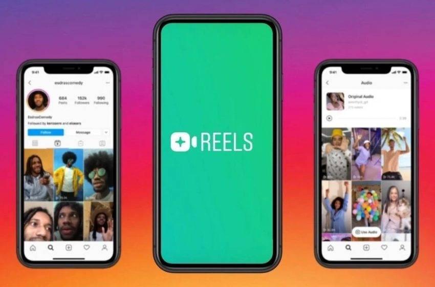 Instagram Reels'e özel buton tasarladı