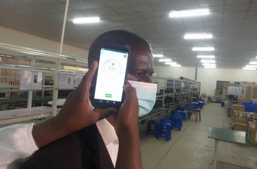 Simi Mobile sıcaklık ölçen akıllı telefon tanıttı