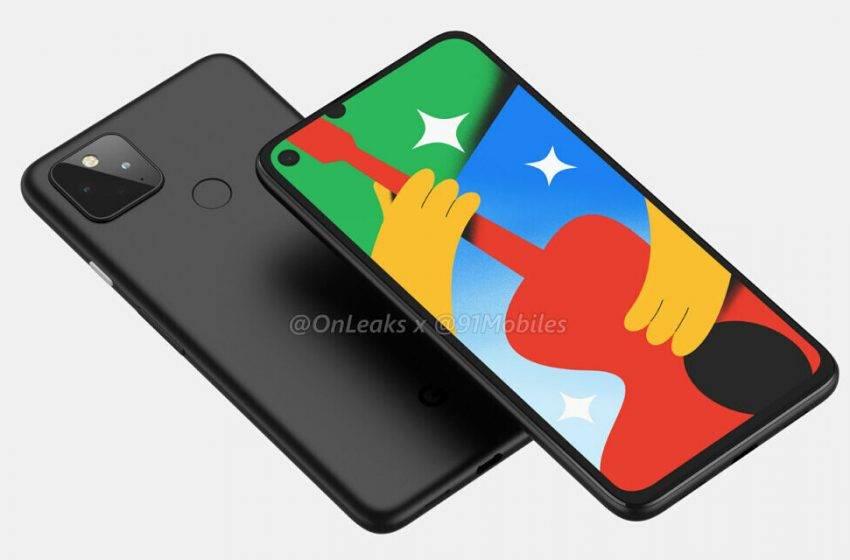 Google Pixel 5'in gerçek fotoğrafı sızdırıldı
