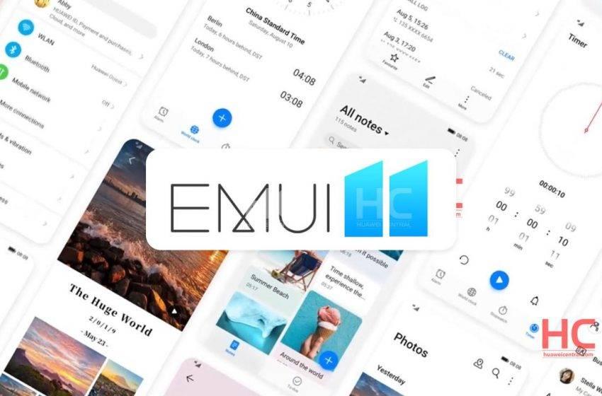 Huawei EMUI 11 tanıtım tarihi belli oldu