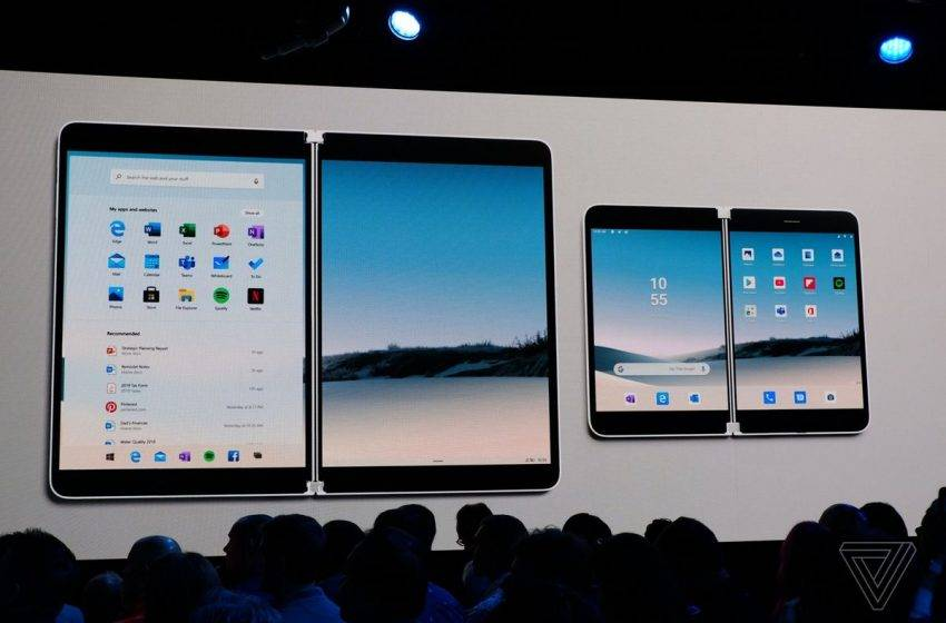 Katlanabilir Microsoft Surface Duo tasarımı ortaya çıktı