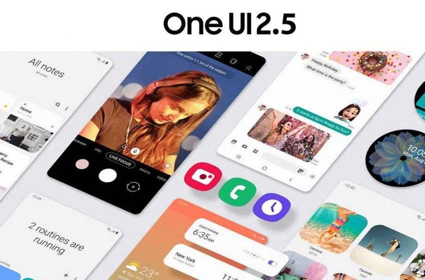 One UI 2.5 alacak Samsung modeller açıklandı!