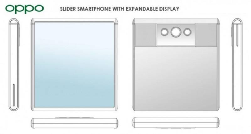 Oppo sürgülü akıllı telefon patenti aldı