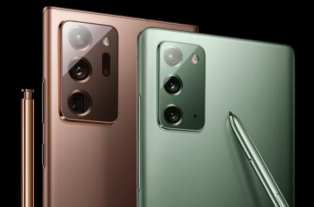 Samsung Galaxy Note 20 ailesi satış rakamları açıklandı