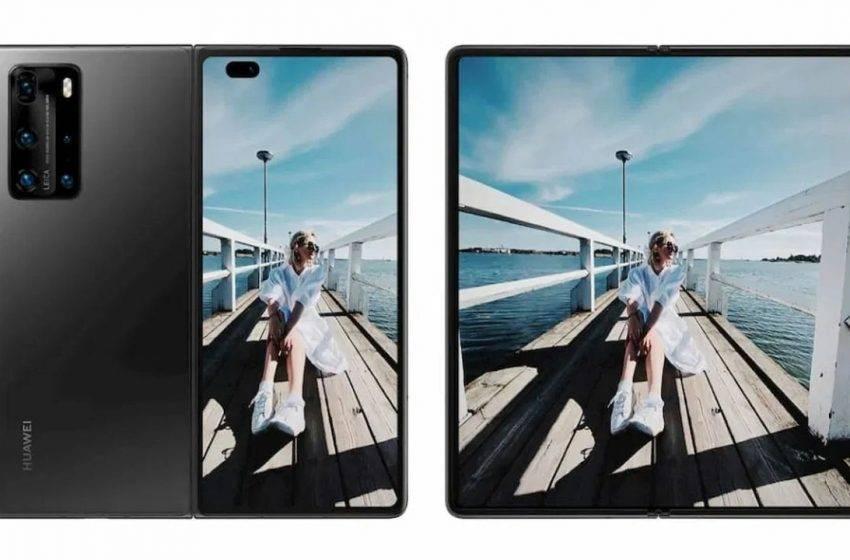 Huawei Mate X2 tasarımı ortaya çıktı