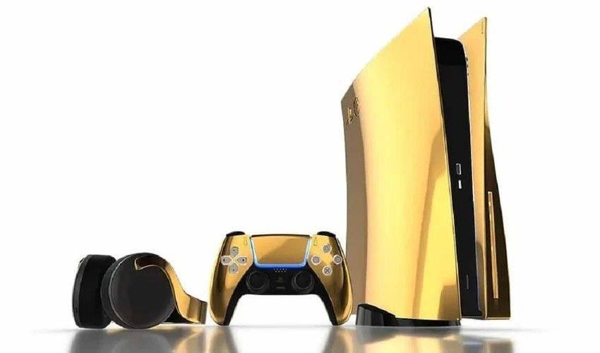 Altın kaplama PlayStation 5 fiyatları açıklandı