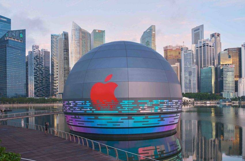 Apple yüzen mağazasının açılış tarihi belli oldu