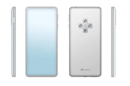 Huawei ekran içi ön kameralı telefon patenti aldı