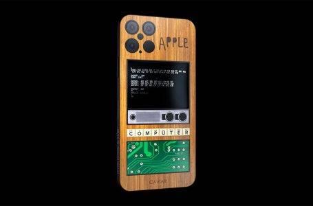 Ahşap kaplamalı iPhone 12 Pro özel tasarımı!