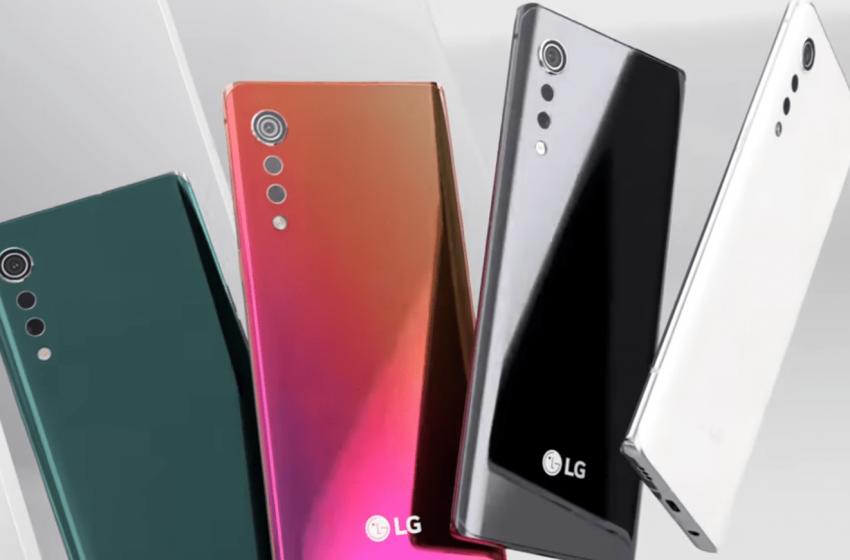 LG Velvet Android 11 güncellemesi aldı