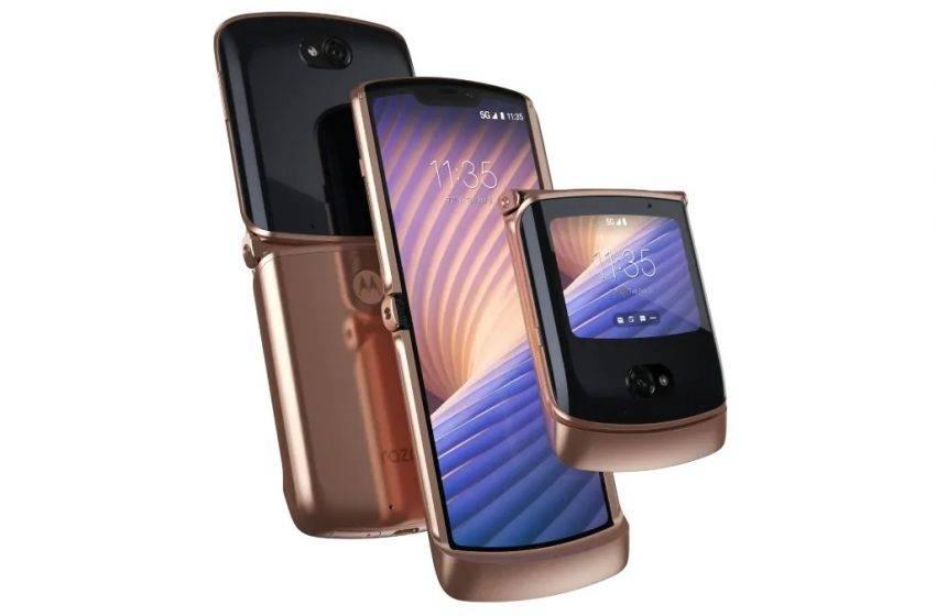 Katlanabilir akıllı telefonlara bir yenisi eklendi: Motorola Razr 5G tanıtıldı