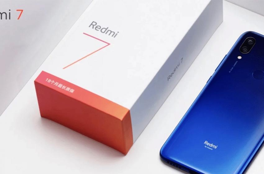 Redmi 7 MIUI 11 güncellemesi geliyor