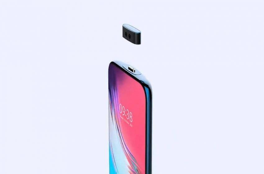 Vivo kamerası çıkarılabilen telefon tasarladı