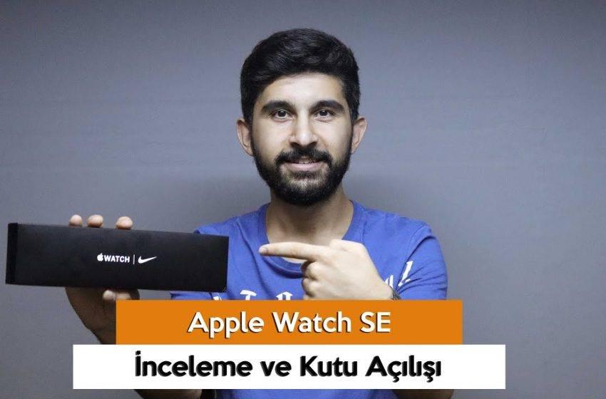 Apple Watch SE inceleme!
