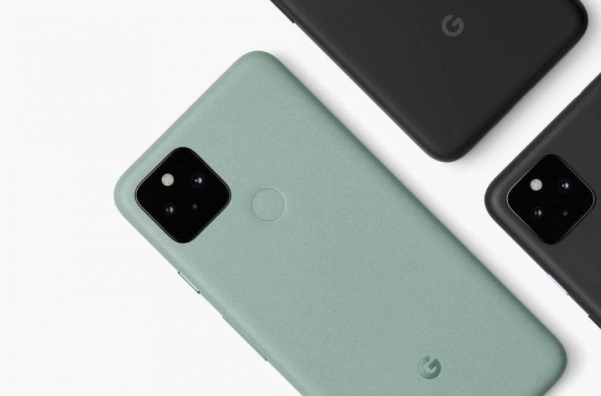 Google Pixel 5 satışlarından memnun!