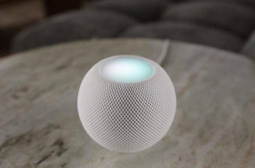 HomePod Mini tanıtıldı! İşte özellikleri ve fiyatı