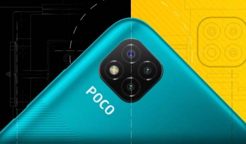POCO C3 kamera detayları ortaya çıktı