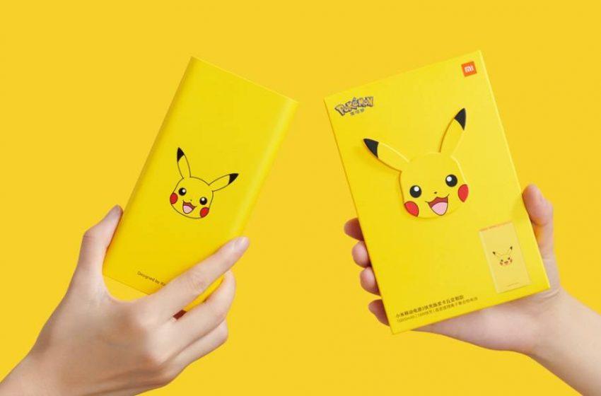 Xiaomi Mi Powerbank 3 Pikachu Edition tanıtıldı! İşte fiyatı