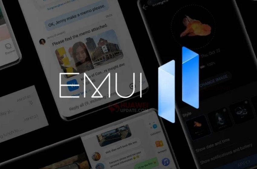 Huawei EMUI 11 dağıtım tarihlerini açıkladı!