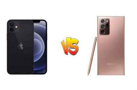 iPhone 12 ve Galaxy Note 20 Ultra karşılaştırıldı (VİDEO)