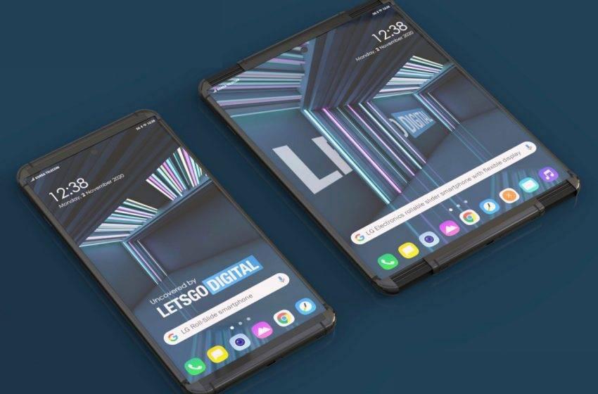 LG katlanabilir telefonunun ismini belirledi: LG Rollable