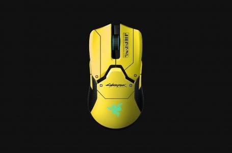 Cyberpunk 2077 oyununa özel Razer fare!